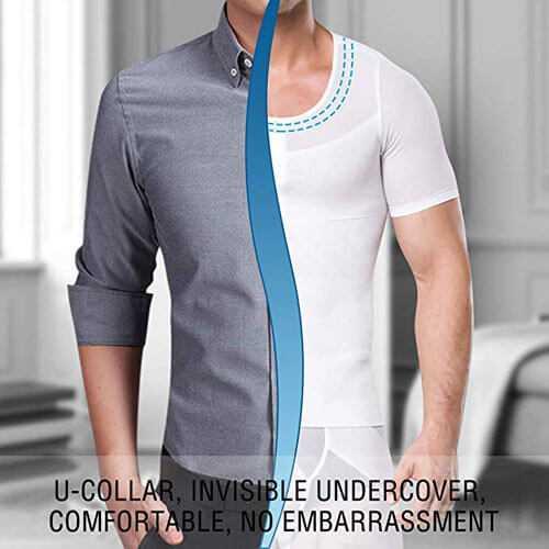 Camiseta interior moldeadora hombre