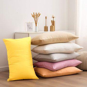 Fundas para almohada de algodon