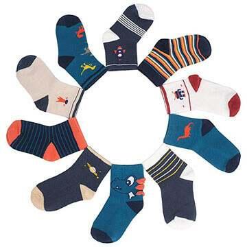 calcetines 100 algodon para niño