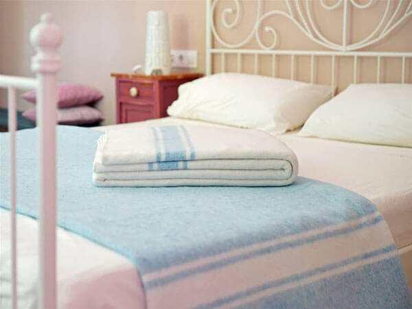 Manta de algodón tradicional