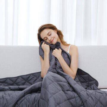 mantas de algodón 100 por 100 para cama y sofá
