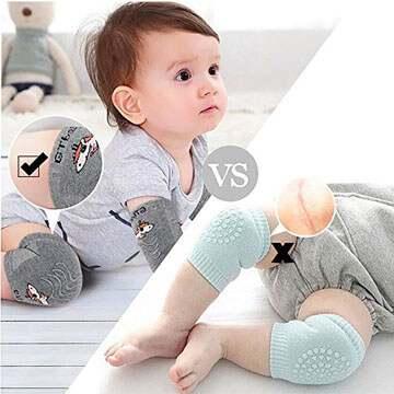 Rodilleras de bebe algodón 100
