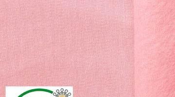 Tela algodón elástica con elastano - 95% algodón y 5% elastano color rosa