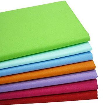 Surtido de Telas de algodón 100% en muchos colores